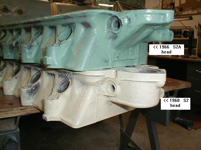 Land Rover head comparison